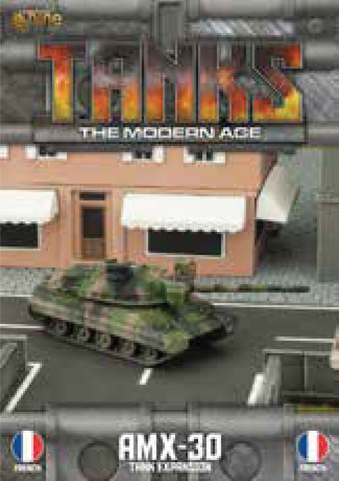 Tanks: The Modern Age - French Amx-30 Game Box