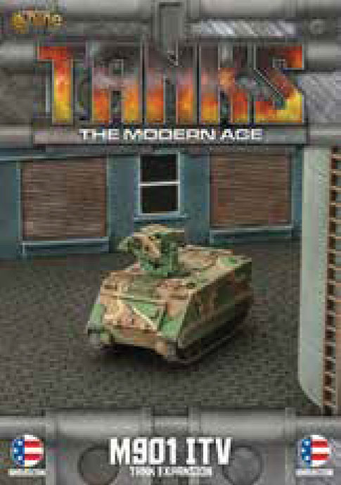 Tanks: The Modern Age - Us M901 Itv Game Box