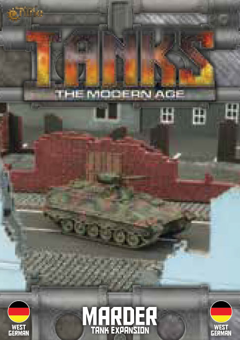 Tanks: The Modern Age - West German Marder Game Box