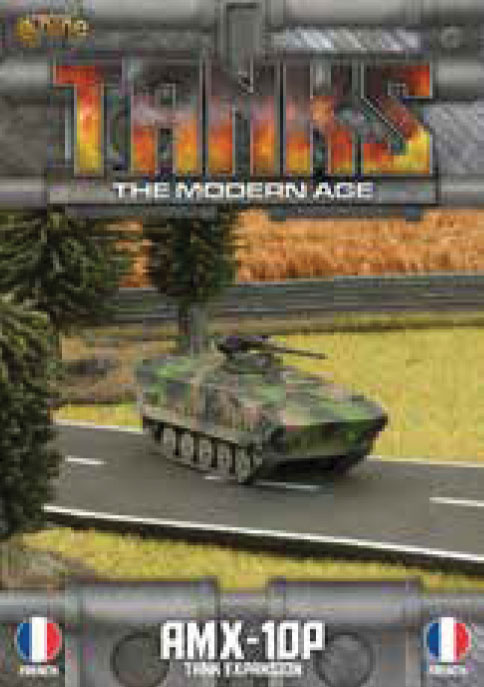 Tanks: The Modern Age - French Amx-10p Game Box