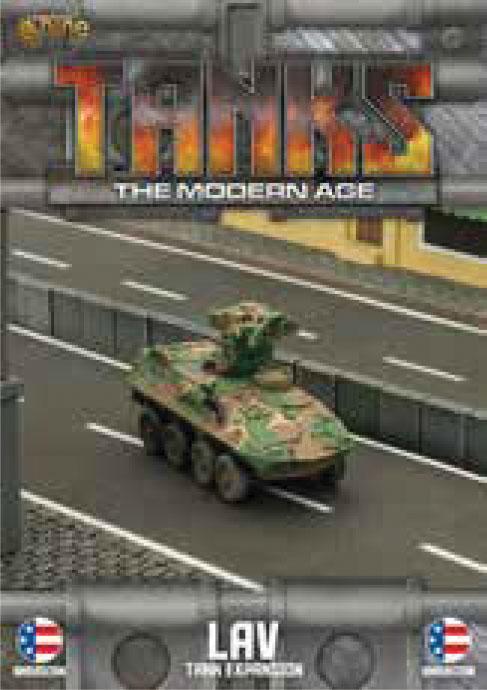 Tanks: The Modern Age - Us Lav Game Box