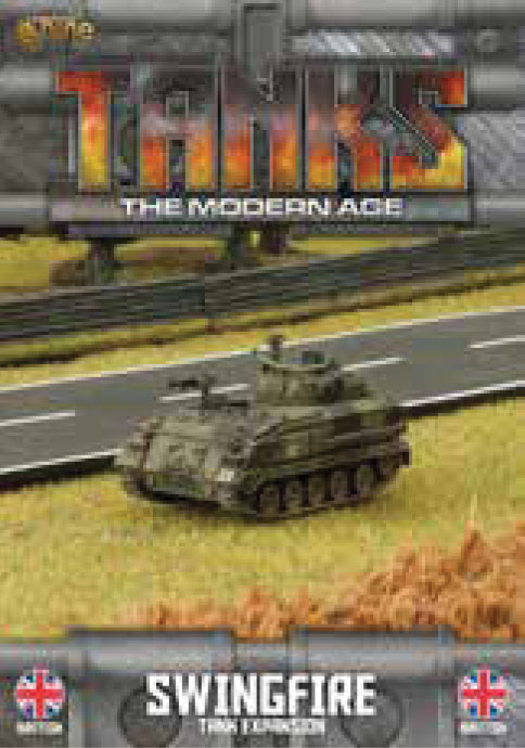 Tanks: The Modern Age - Great Britain Swingfire Game Box