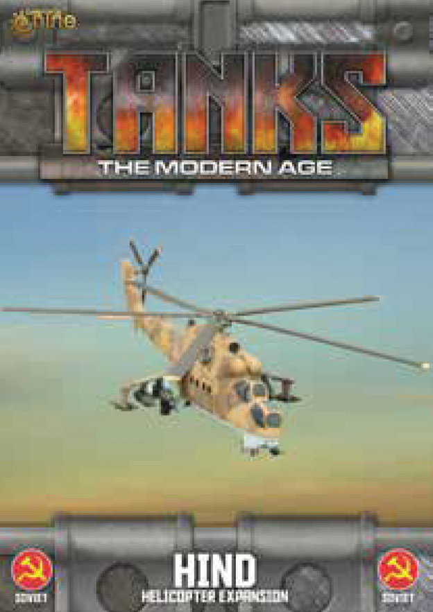 Tanks: The Modern Age - Soviet Hind Helicopter Game Box