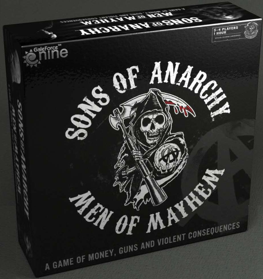 Sons Of Anarchy: Men Of Mayhem Box Front