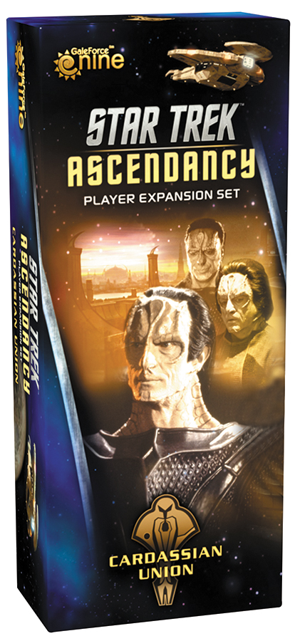 Star Trek Ascendancy: Cardassian Union Player Expansion Set Box Front