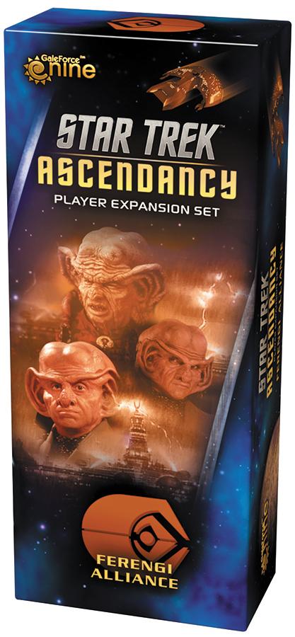 Star Trek Ascendancy: Ferengi Alliance Player Expansion Set Box Front