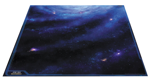 Star Trek Ascendancy: Galaxy Play Mat 36in X 36in Box Front
