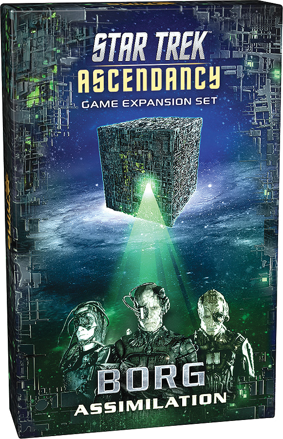 Star Trek Ascendancy: Borg Assimilation Expansion Set Game Box