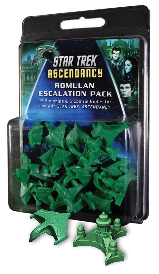 Star Trek Ascendancy: Romulan Ship Pack (12) Box Front