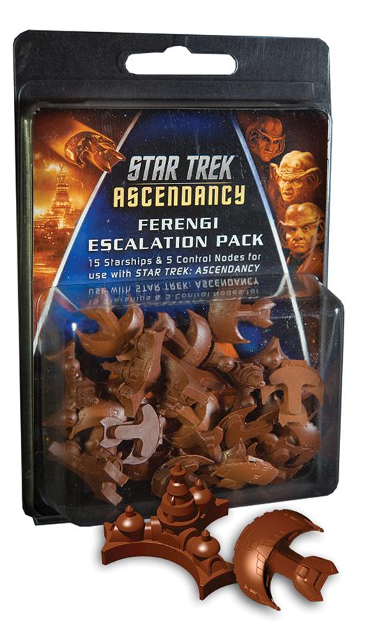 Star Trek Ascendancy: Ferengi Ship Pack (12) Box Front
