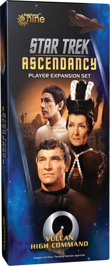 Star Trek Ascendancy: Vulcan High Command Player Expansion Set Box Front