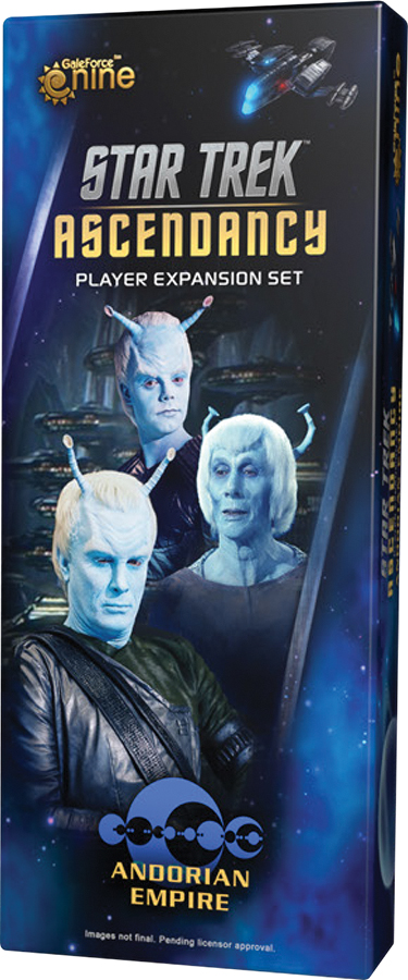 Star Trek Ascendancy: Andorian Empire Player Expansion Set Box Front