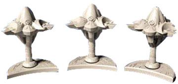 Star Trek Ascendancy: Ferengi Starbases (3) Box Front