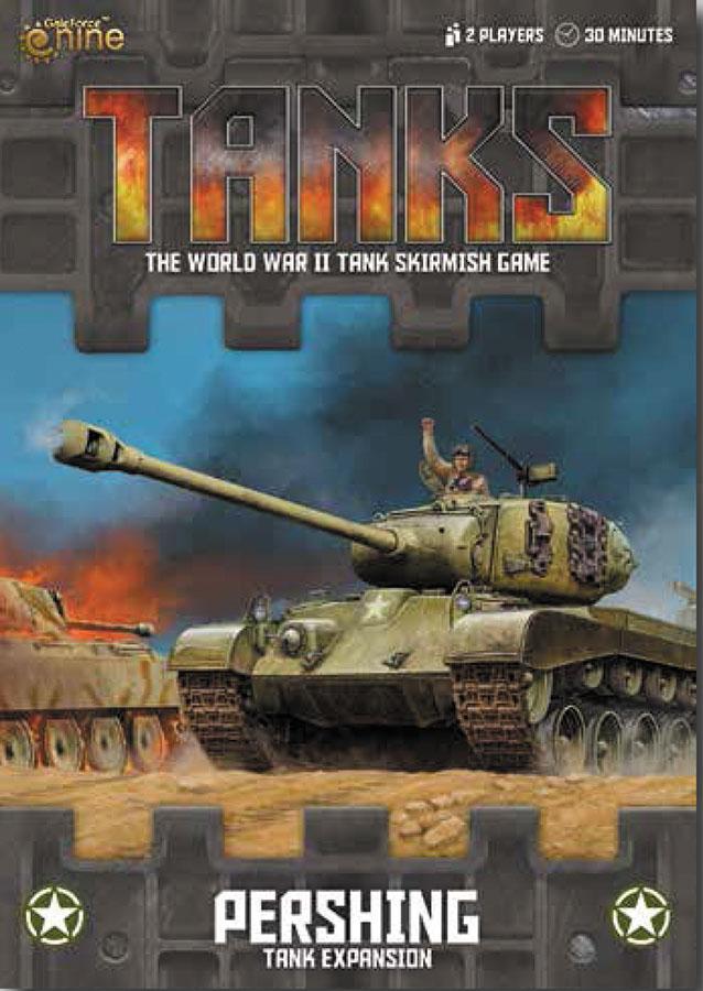 Tanks: Us Pershing And Super Pershing Box Front