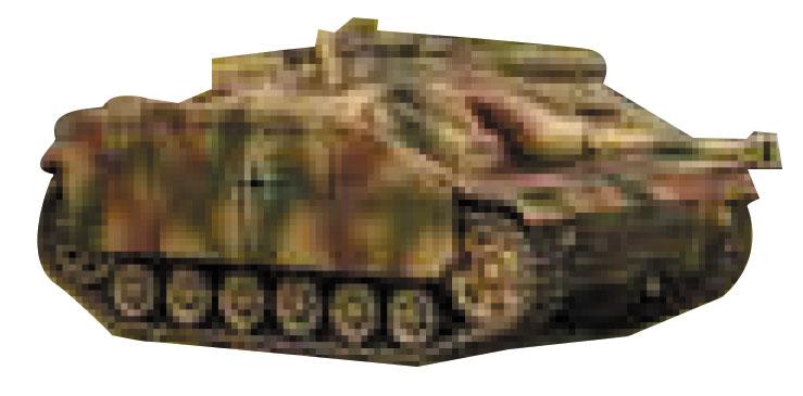 Tanks: German Stug G Box Front