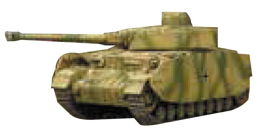 Tanks: German Panzer Iv Box Front