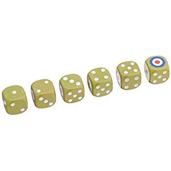 Tanks: British Dice Set (6)