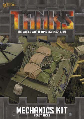 Tanks: Mechanics Kit Hobby Tools Box Front