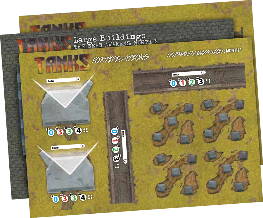 Tanks: Terrain Pack - Normandy Box Front