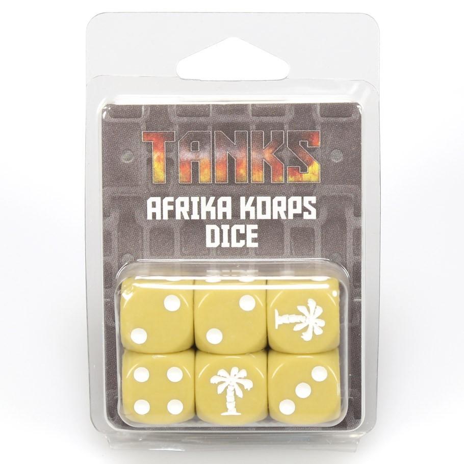 Tanks: German Afrika Korps Dice Set (6)