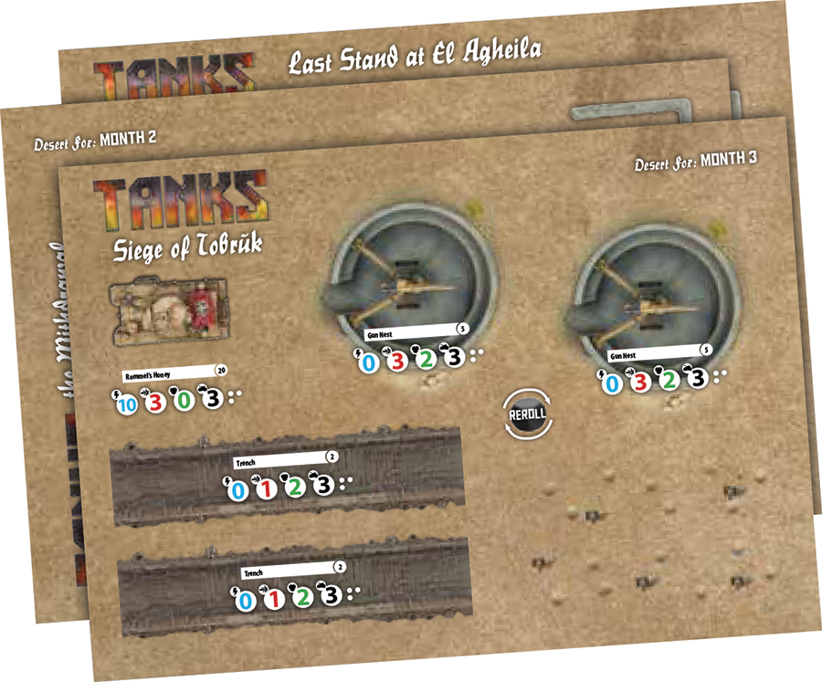 Tanks: Terrain Pack - North Africa Box Front