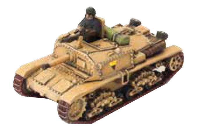 Tanks: Italian Semovente Box Front
