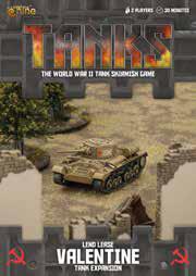 Tanks: Soviet Lend-lease Valentine Box Front