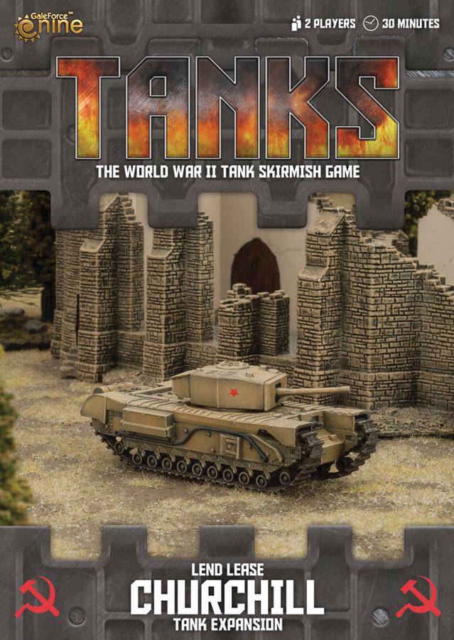 Tanks: Soviet Lend-lease Churchill Box Front