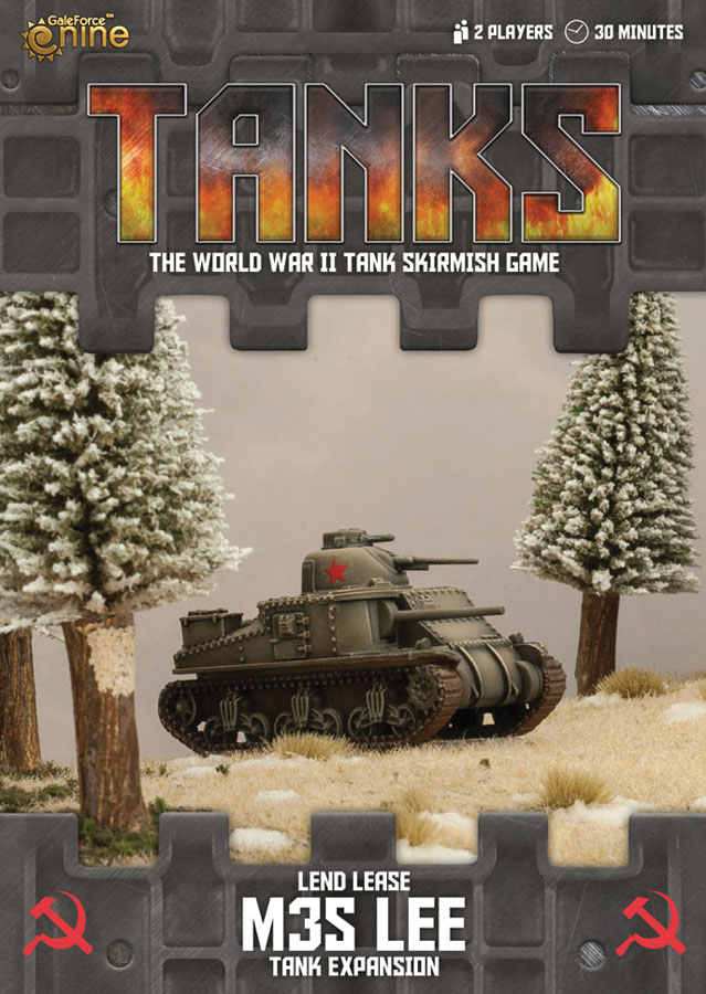 Tanks: Soviet Lend-lease M3s Lee Box Front
