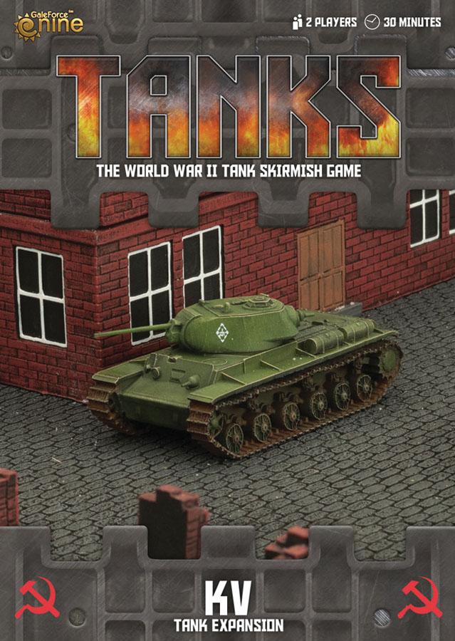 Tanks: Soviet Kv Box Front