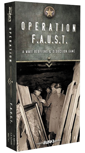 Operation Faust Box Front