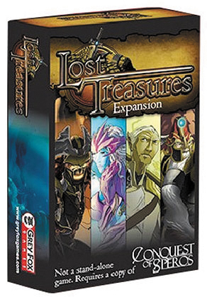 Conquest Of Speros: Lost Treasures Expansion Box Front