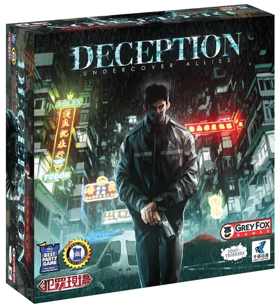 Deception: Murder In Hong Kong-undercover Allies Expansion Box Front
