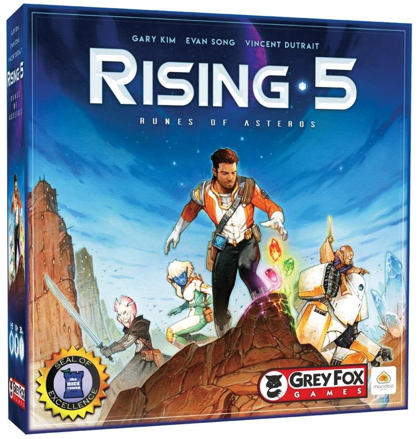 Rising 5 Box Front