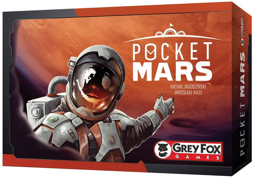 Pocket Mars Game Box