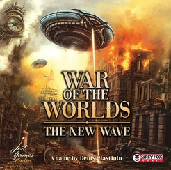 War Of The Worlds: The New Wave Game Box