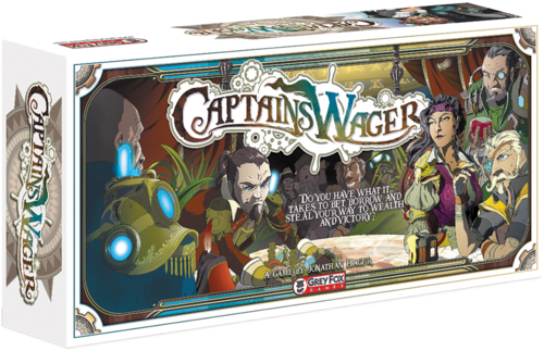 Captain`s Wager Box Front