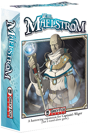 Captain`s Wager: The Maelstrom Expansion Box Front