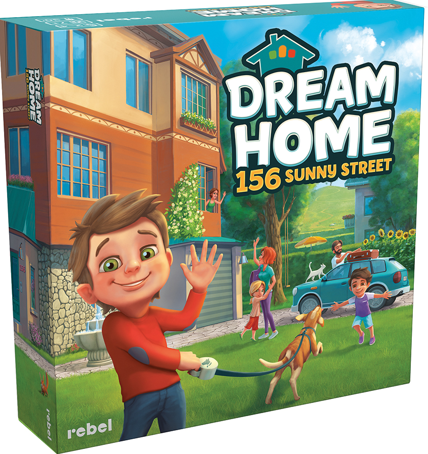 Dream Home: 156 Sunny Street Exp Box Front