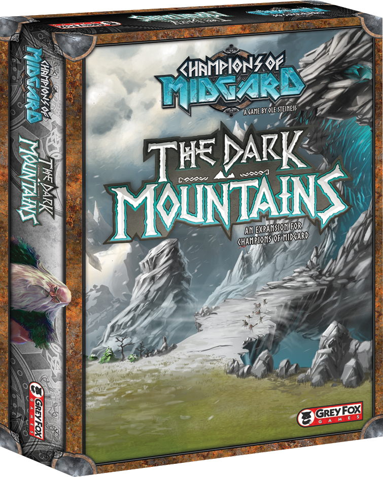 Champions Of Midgard: The Dark Mountains Box Front