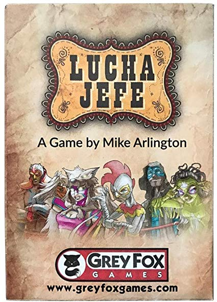Lucha Jefe: Grey Fox Games Ittd Exclusive Microgame