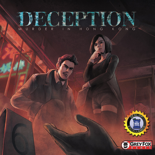 Deception: Murder In Hong Kong Box Front