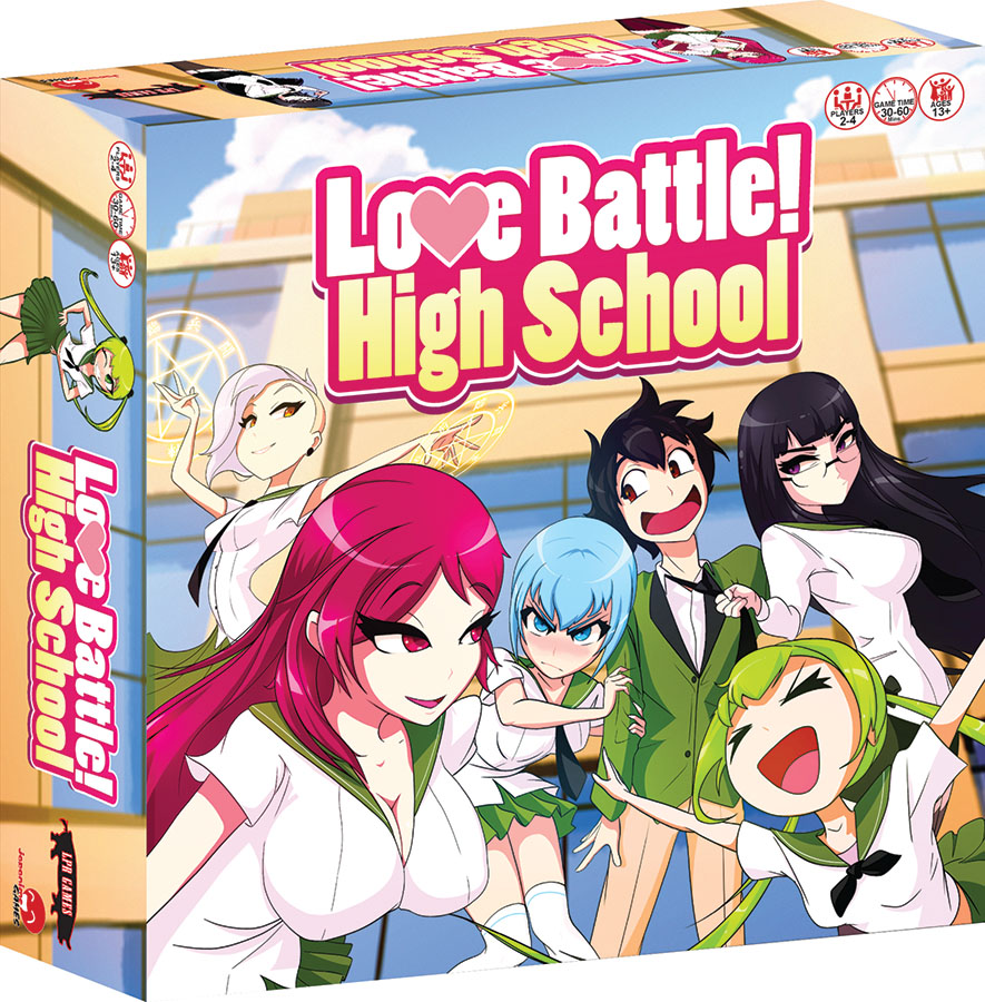 Love Battle: High School Game Box