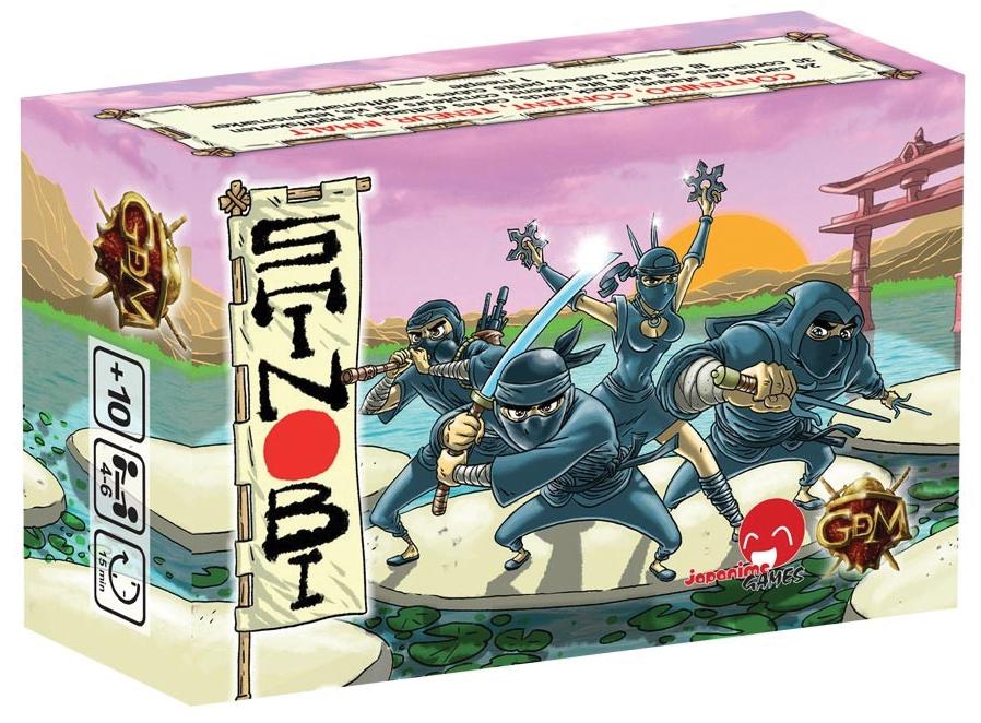 Shinobi Box Front