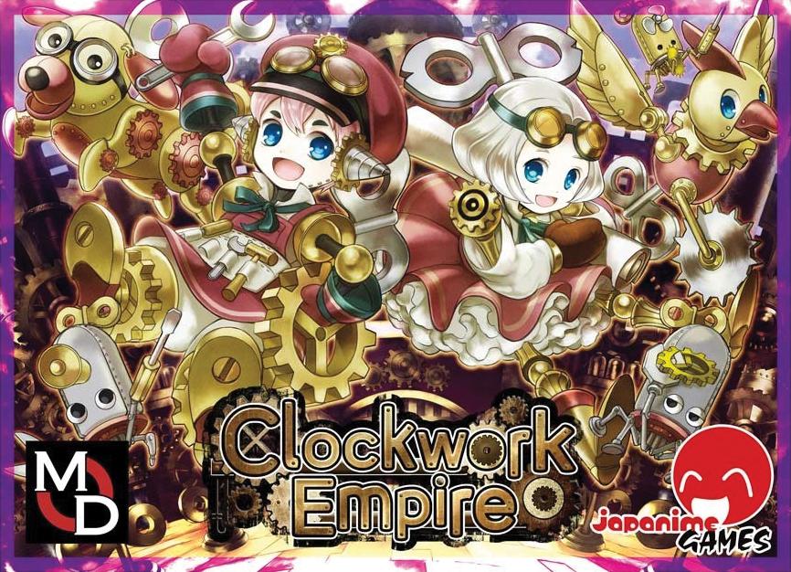 Clockwork Empire Box Front