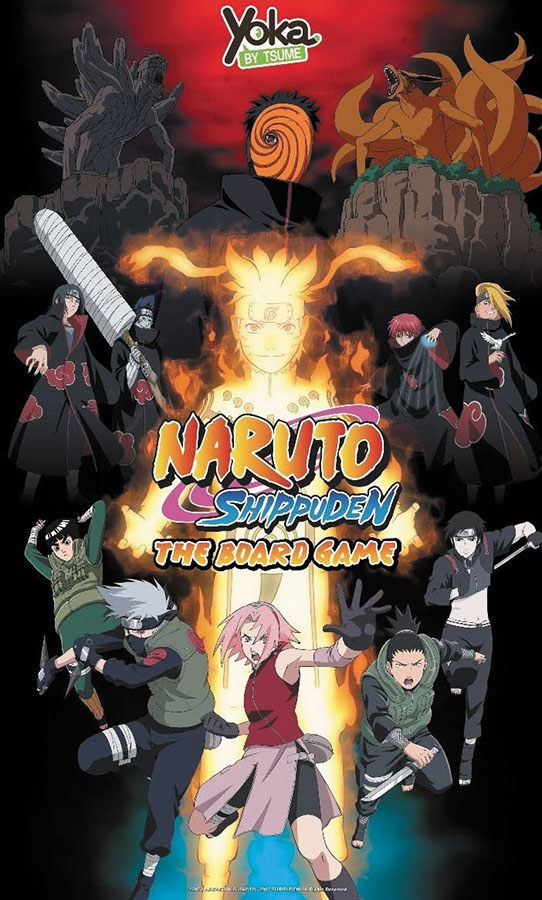 Naruto Shippuden: The Board Game Box Front