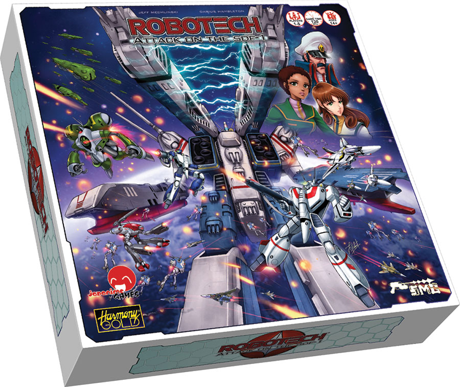 Robotech: Attack On The Sdf-1 Game Box