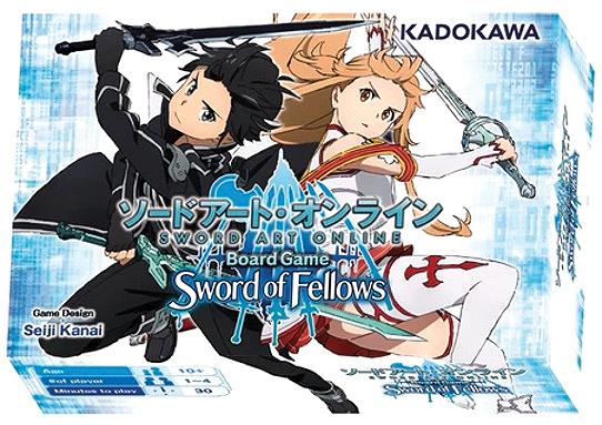 Sword Art Online: Sword Of Fellows Box Front
