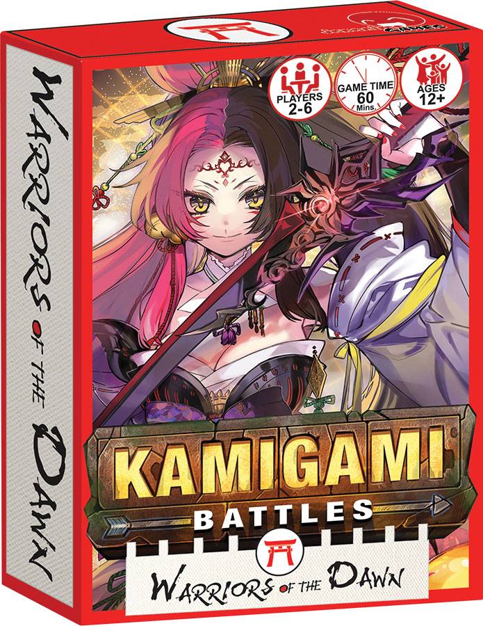Kamigami Battles: Warriors Of The Dawn Expansion Game Box