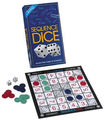 Sequence: Dice Game Box Front